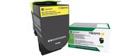 Lexmark 71B20Y0 Lasertoner 2300 Seiten Gelb Lasertoner / Patrone