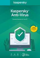 Kaspersky Antivirus KAV2020 3 USER 1YEAR BS Fr. Dt.