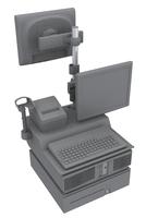 HP QQ972AA mounting kit