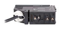 APC IT Power Distribution Module 2 Pole 3 Wire 30A L1-L2 L6-30 380cm 1AC outlet(s) Black power distribution unit (PDU)