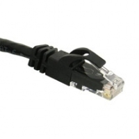 C2G 125ft Cat6 550MHz Snagless 38.125m Black networking cable