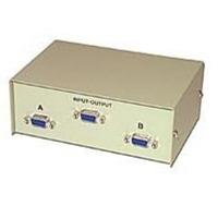 C2G 2-1 HD15 VGA Manual Switch Box White KVM switch