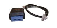APC AP9810 0.045m Black networking cable