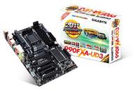 Gigabyte GA-990FXA-UD3 North Bridge: AMD 990FX \n<br>South Bridge: AMD SB950 Socket AM3 ATX moederbord