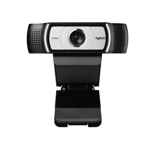 Logitech C930e, 1920 x 1080 Pixels, 30 fps, 720p,1080p, 4x, USB, Zwart