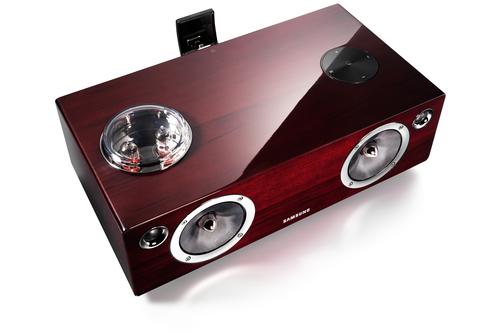 Specs Samsung DA E750 docking speaker 2.1 channels 100 W