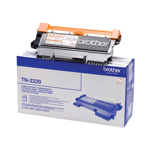 Brother TN2220 Black High Capacity Remanufactured Laser Toner