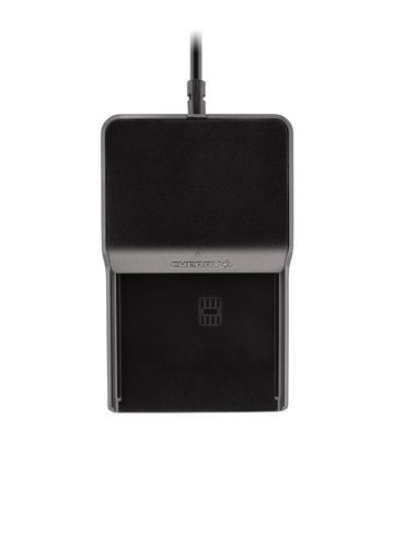 Cherry TC 1100 Intérieur USB 2.0 Noir lecteur de cartes à puce