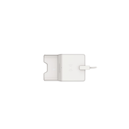 Cherry TC 1300 Intérieur USB 2.0 Gris lecteur de cartes à puce