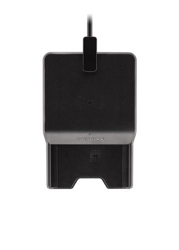 Cherry TC 1300 Intérieur USB 2.0 Noir lecteur de cartes à puce