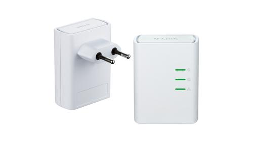 D-Link DHP-509AV 500Mbit/s Ethernet/LAN Blanc 2pièce(s) Adaptateur réseau CPL
