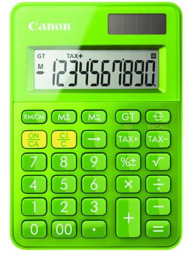 Canon LS-100K Bureau Calculatrice basique Vert