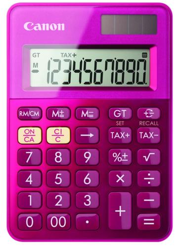 Canon LS-100K Bureau Calculatrice basique Rose