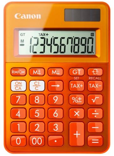 Canon LS-100K Bureau Calculatrice basique Orange