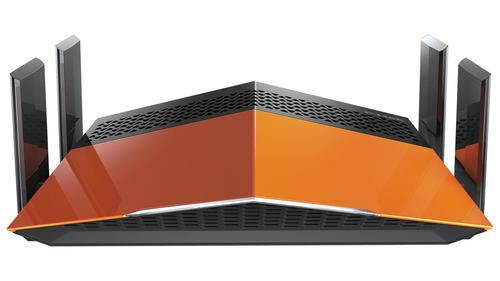 D-Link AC1900 EXO Bi-bande (2,4 GHz / 5 GHz) Gigabit Ethernet Noir routeur sans fil