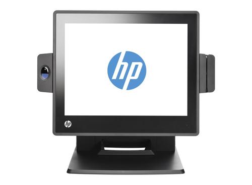 HP RP7 7800 Tout-en-un 3.3GHz i3-2120 15″ 1024 x 768pixels Écran tactile Noir terminal de paiement