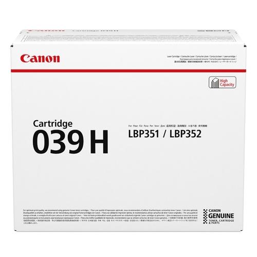 Canon 039H Cartouche 25000pages Noir