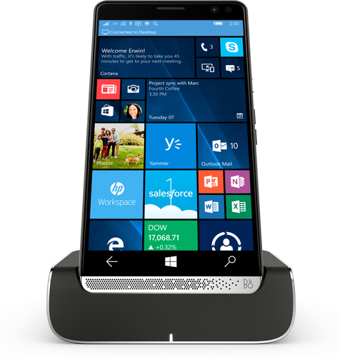 HP Elite x3 + Elite x3 Desk Dock