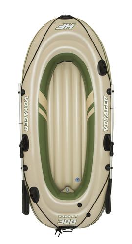 Bestway Hydro-Force Schlauchboot-Set Voyager 300-2 Personen 243 x 102 x 31 cm
