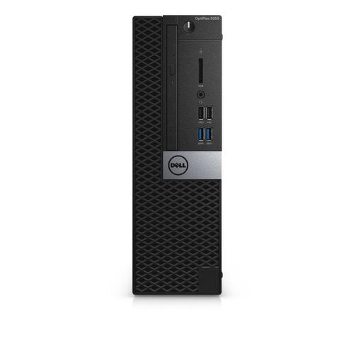 Dell Optiplex 5050 SFF Small Form Factor Intel Core i5-7500 (6M Cache, 3.40 GHz) 4GB (1x4GB) 2400MHz DDR4 500GB SATA (7.2k rpm) 3.5