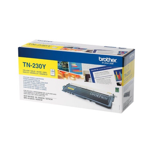 Brother TN230Y Yellow Remanufactured Toner Cartridge
