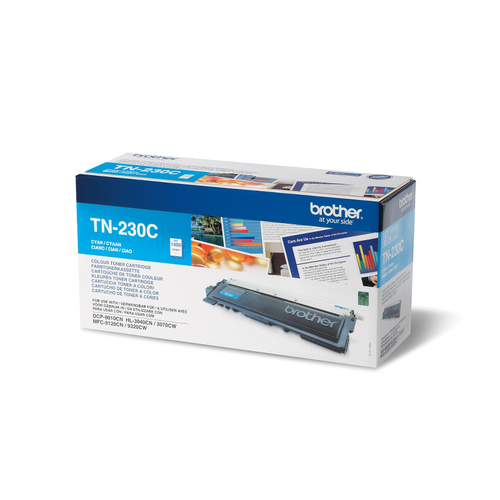 Brother TN230C Cyan Remanufactured Toner Cartridge