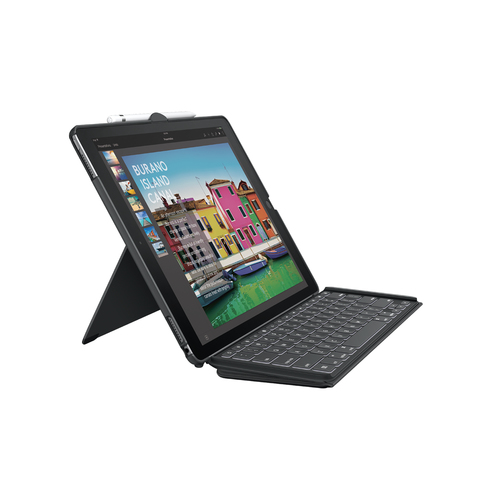 SLIM COMBO dtch kb iPad Pro 12.9 BLK UK
