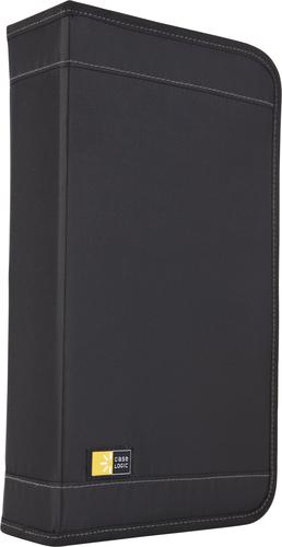 Case Logic CDW64 Étui avec portefeuille 72disques Noir étui disque optique