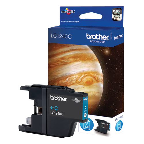 Brother LC1240C Compatible Cyan Ink Cartridge