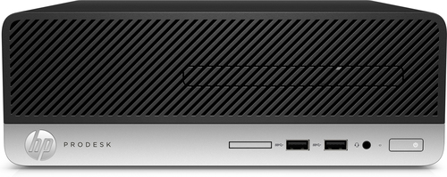 HP ProDesk 400 G6, 3 GHz, Intel® 9de generatie Core™ i5, 8 GB, 256 GB, DVD±RW, Windows 10 Pro