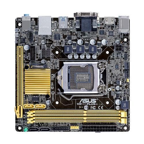 ASUS H81I-PLUS Intel H81 LGA 1150 (Socket H3) Mini ITX carte mère