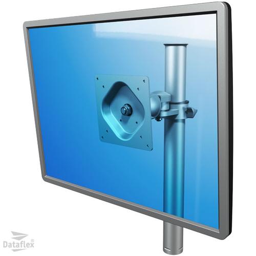 Dataflex ViewKnight Support Écran Simple Monté Sur Tube Vertical 1×1