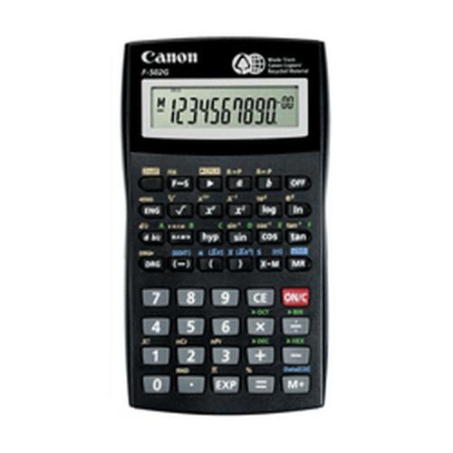 Canon F-502G Bureau Calculatrice scientifique Noir