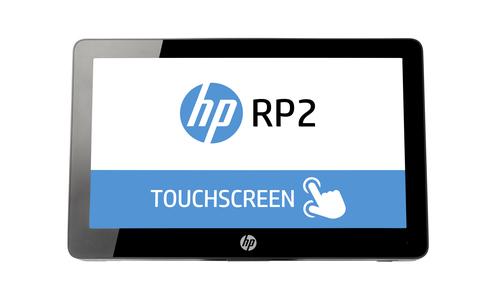 HP RP2 2000 Tout-en-un 2GHz J1900 14″ 1366 x 768pixels Écran tactile Noir terminal de paiement