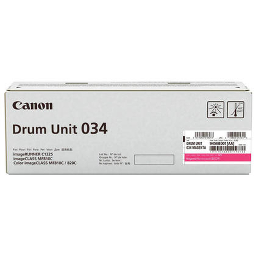 Canon 034 34000pages Magenta tambour d'imprimante