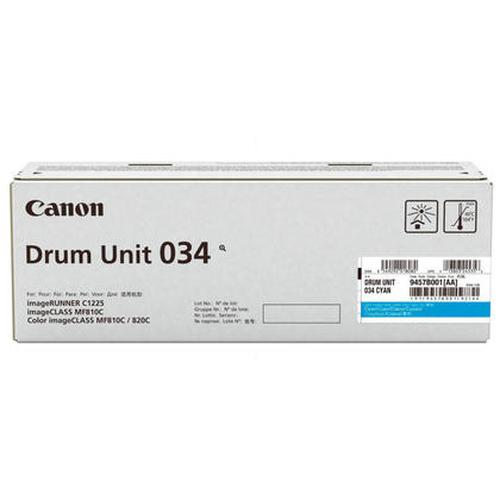 Canon 034 34000pages Cyan tambour d'imprimante