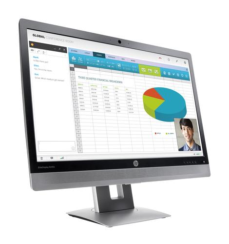 HP Moniteur de visioconférence EliteDisplay E240c 60,45 cm (23,8 pouces)