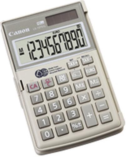 Canon LS-10TEG Poche Calculatrice basique Gris