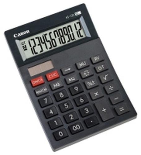 Canon AS-120 Poche Calculatrice à écran Gris