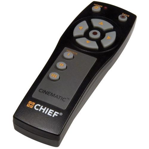 Chief IR10 IR Wireless Appuyez sur les boutons Noir télécommande