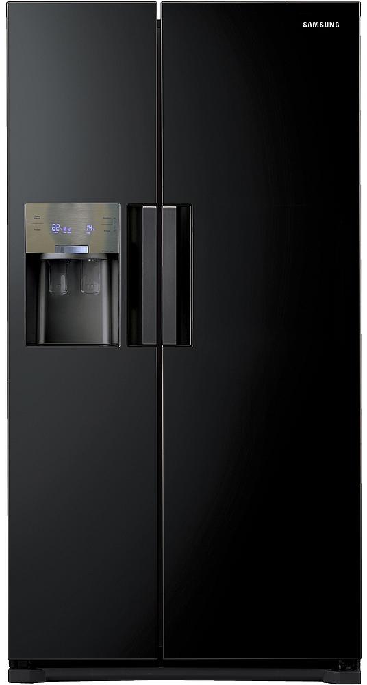 Produktdaten Samsung RS7768FHCBC Freistehend 545l A++ Schwarz Side ...