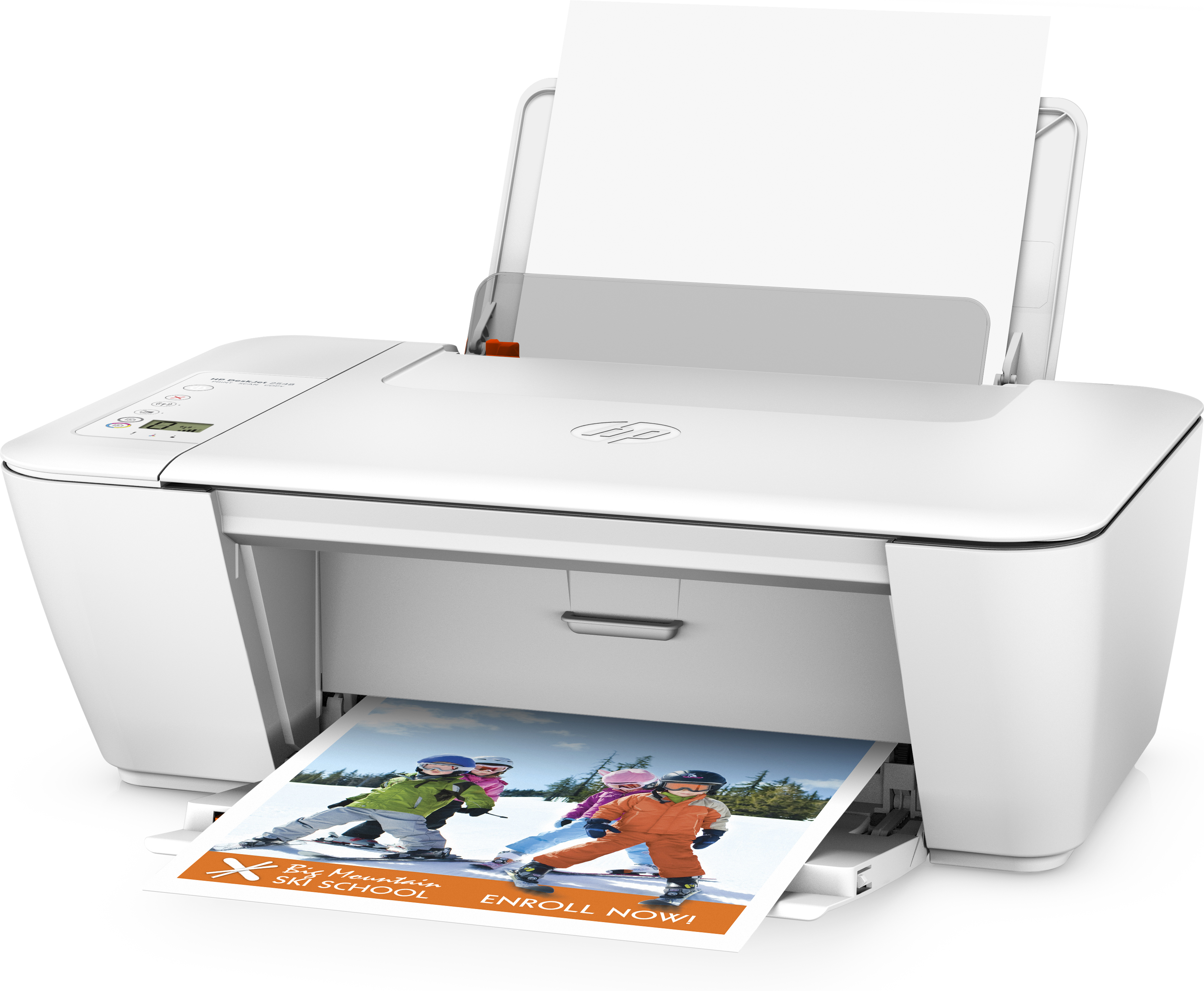 how to connect hp deskjet 2549 to wifi