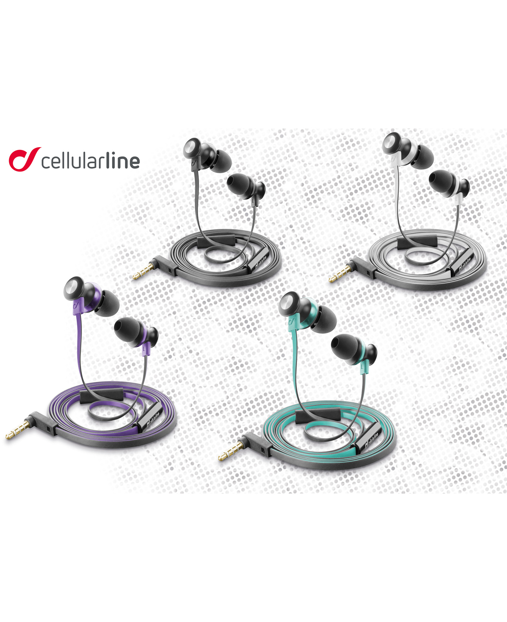 131101e17db Product data Cellularline Bug mobile headset Binaural In-ear Black ...