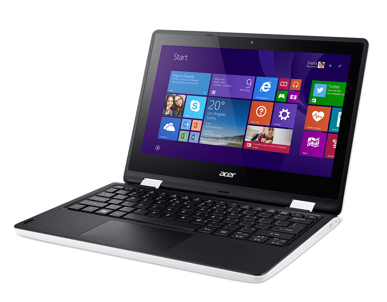 dab10b2e2b9 Product data-sheet Acer Aspire R 11 R3-131T-C5BH Valge Sülearvuti 29 ...