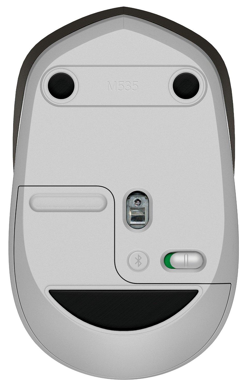 Specs Logitech M535 mouse Bluetooth 1000 DPI Ambidextrous