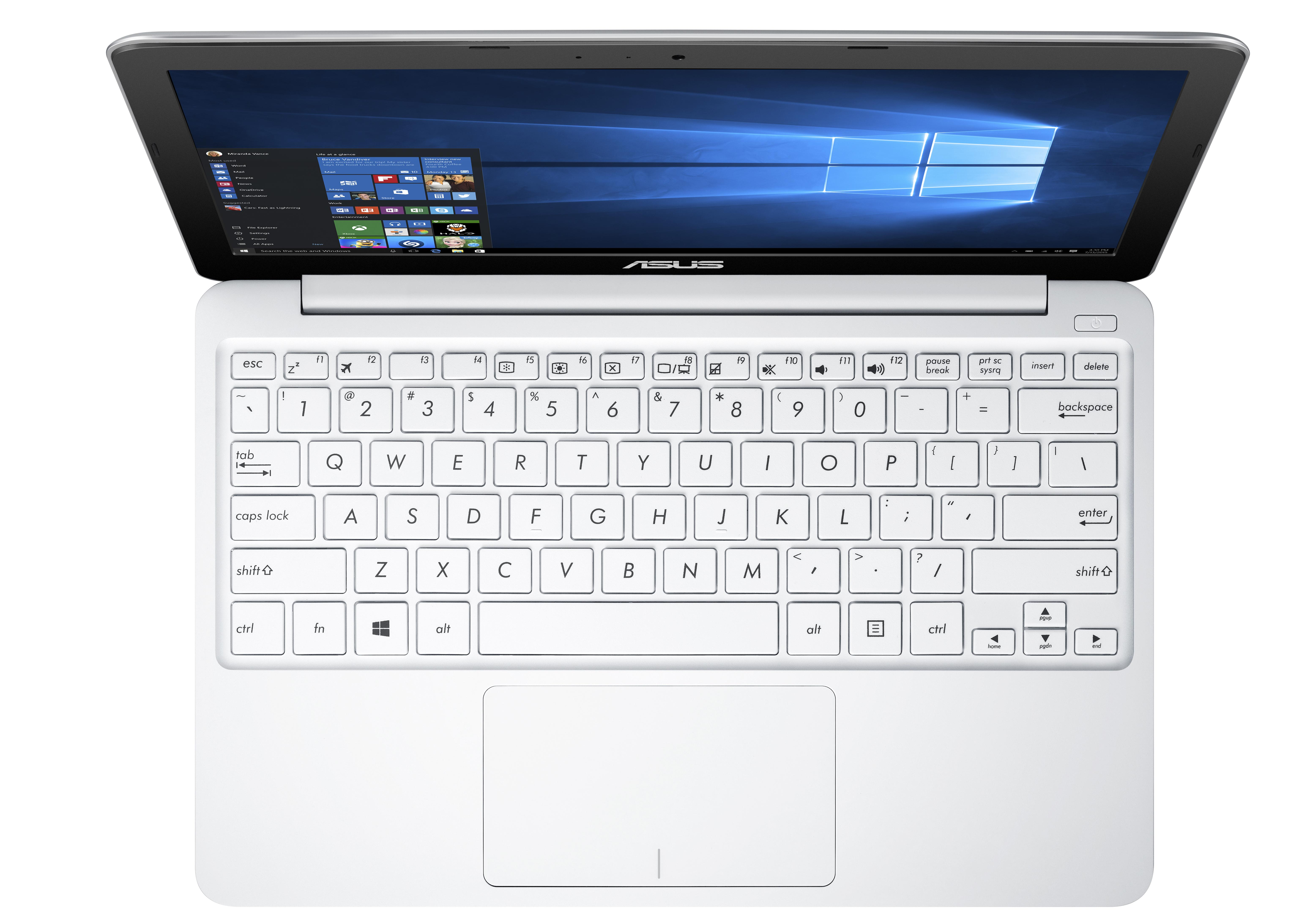 Product data ASUS EeeBook X205TA-FD0050BS notebook White