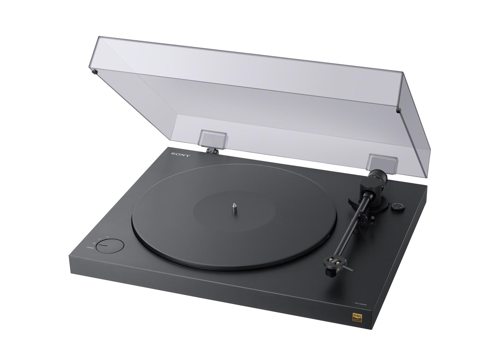 Specs Sony PSHX500 audio turntable Belt drive audio