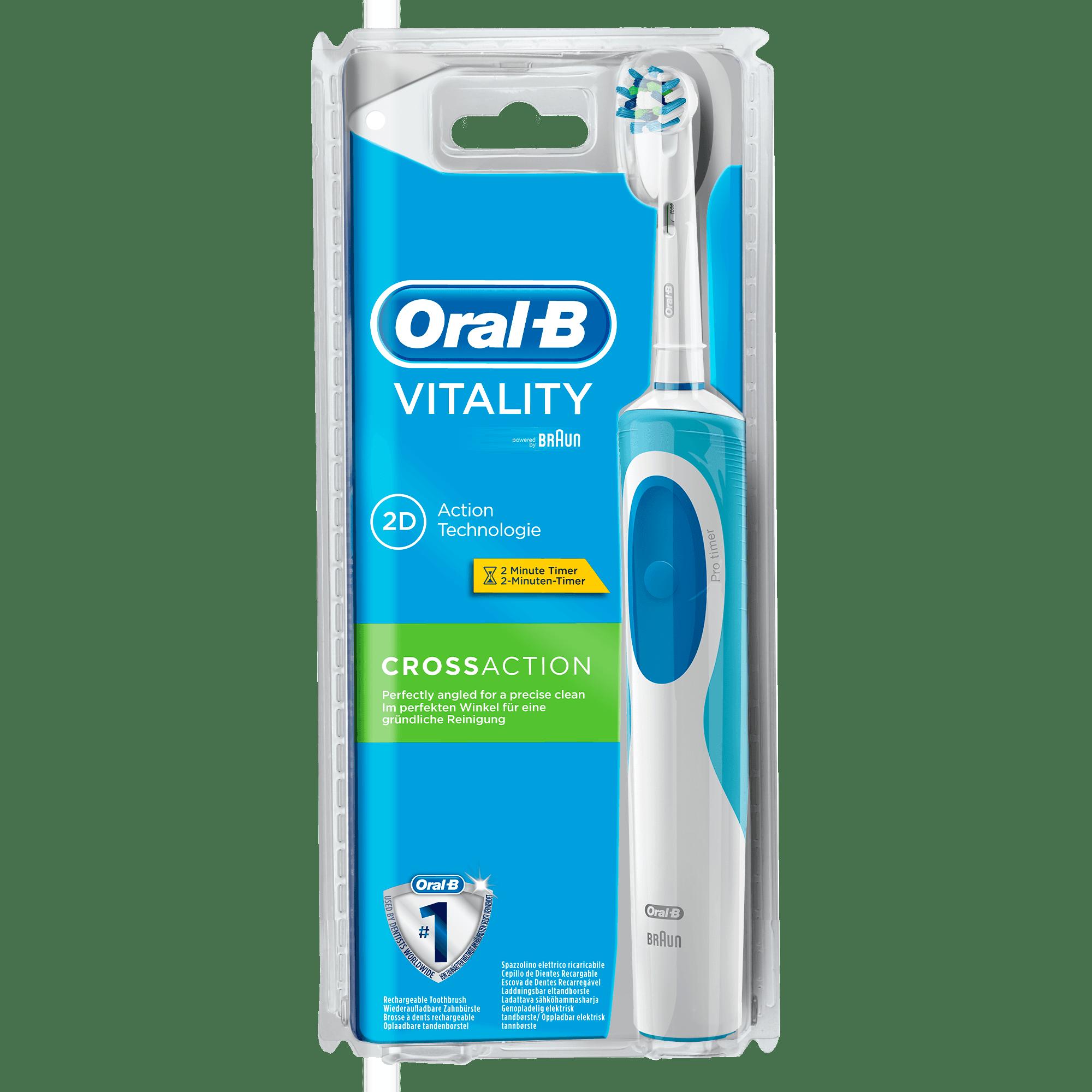 Oralb Vitality Cross Action  Elektrische Zahnbürste // Original