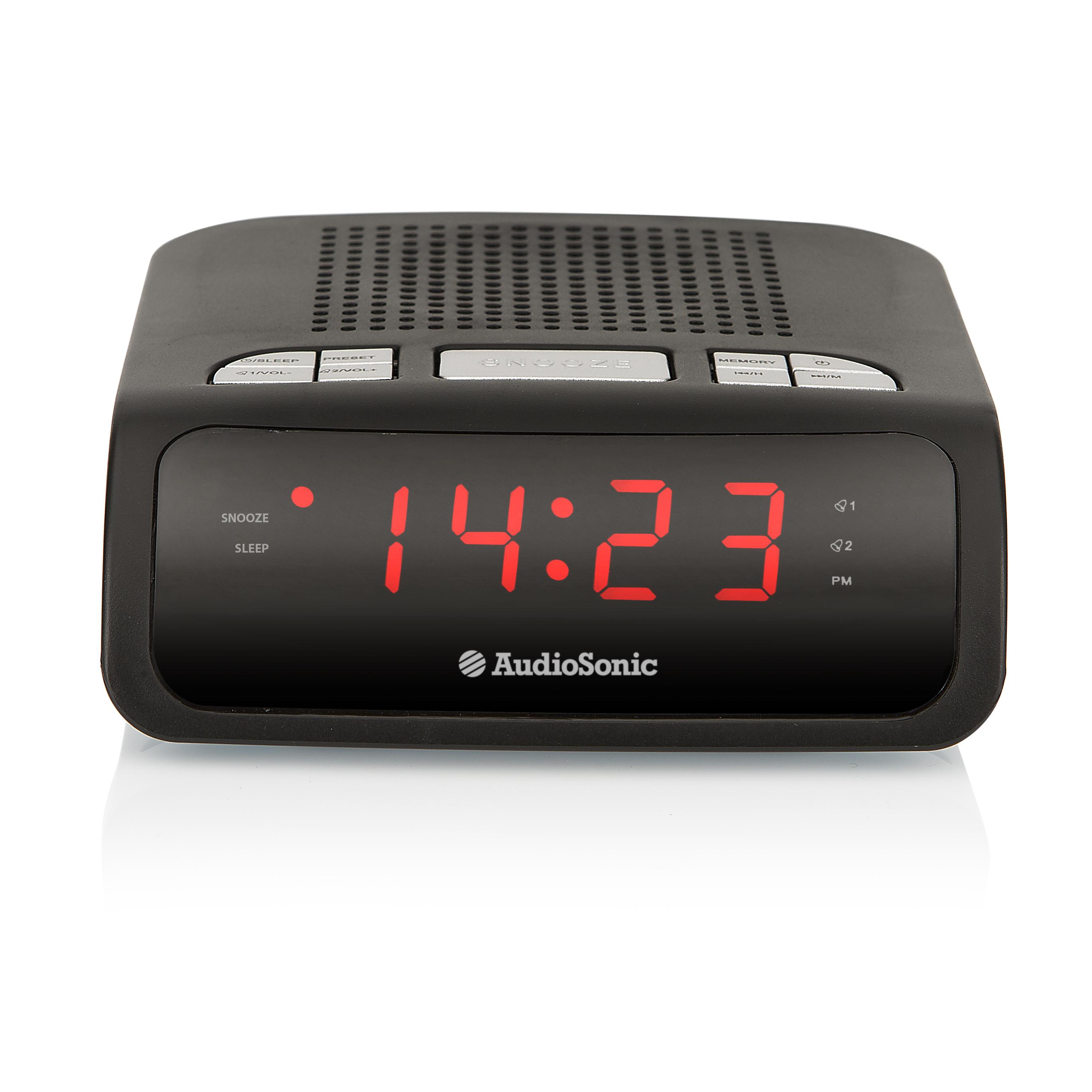 41e45f60f1a Ficha técnica do produto AudioSonic CL-1459 rádio Relógio Digital ...