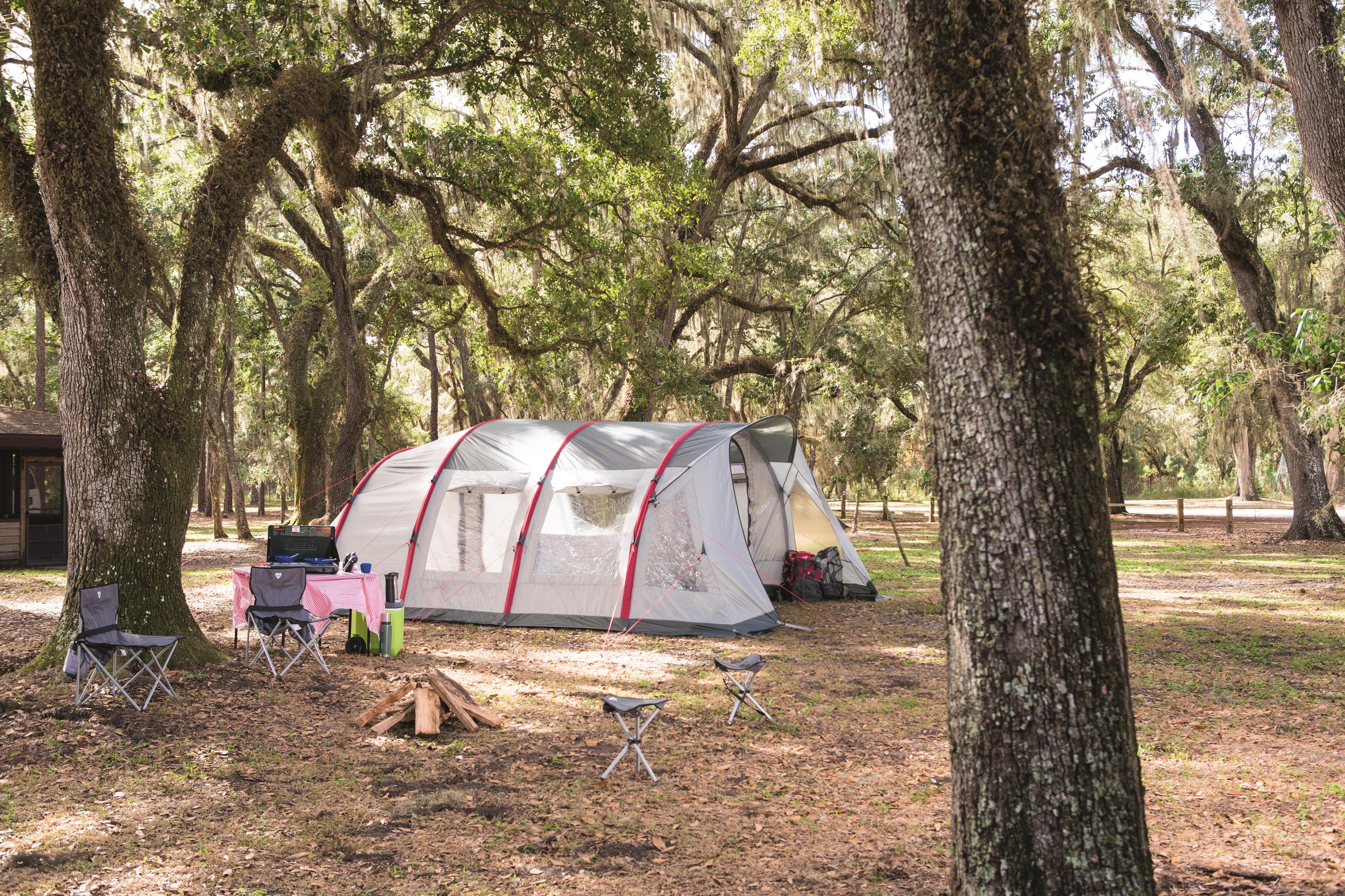 8220a15de2a7 Specs Bestway Sierra Ridge AIR Pro X6 Tent Camping Tents (68079)